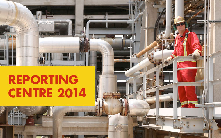 SHELL - Reporting Centre 2014 - Projekt
